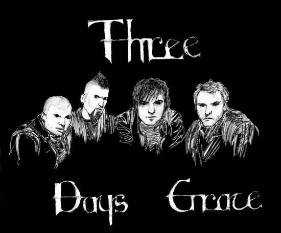 Three Days Grace by bobeck